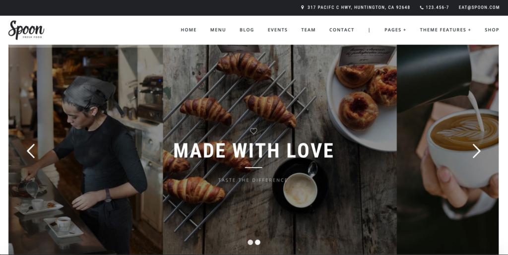 Spoon - a Premium Responsive Restaurant WordPress Theme