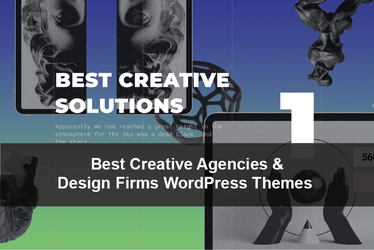 Best Creative Agencies and Design Firms WordPress Themes