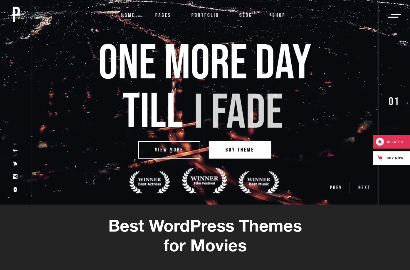 Best WordPress Themes for Movies