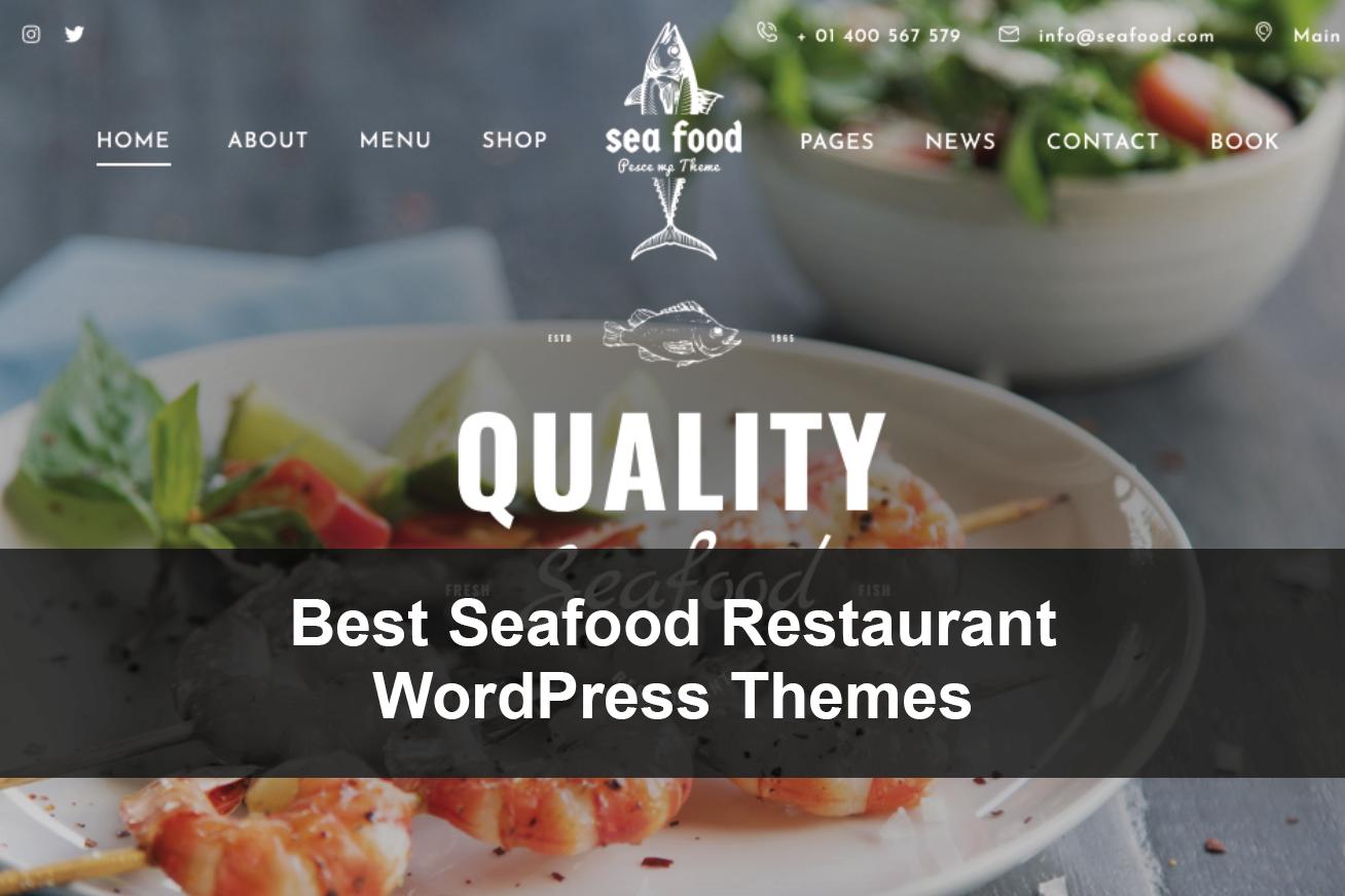 Best Seafood Restaurant WordPress Themes