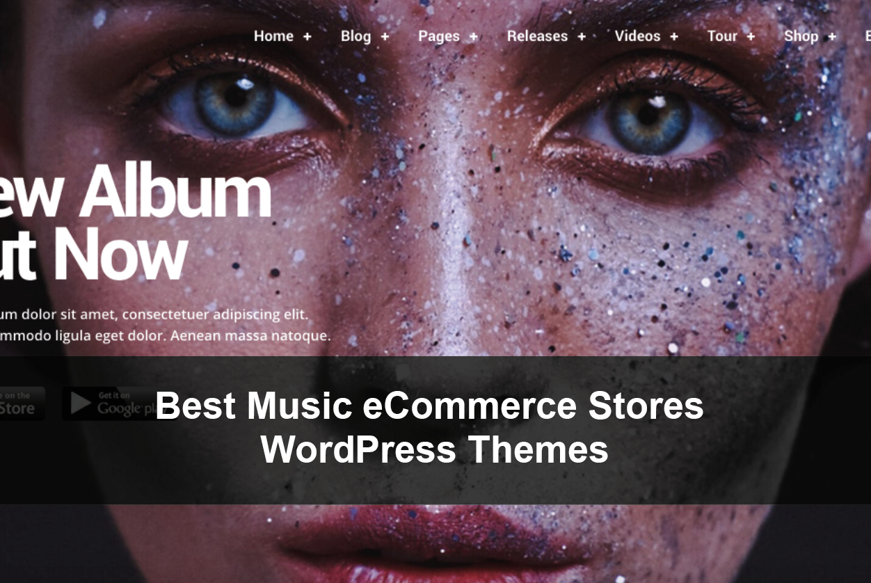 Best Music eCommerce Stores WordPress Themes