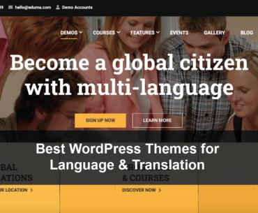 Best WordPress Themes for Language and Translation