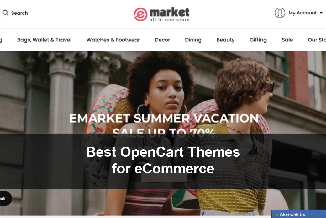 Best OpenCart Themes for eCommerce