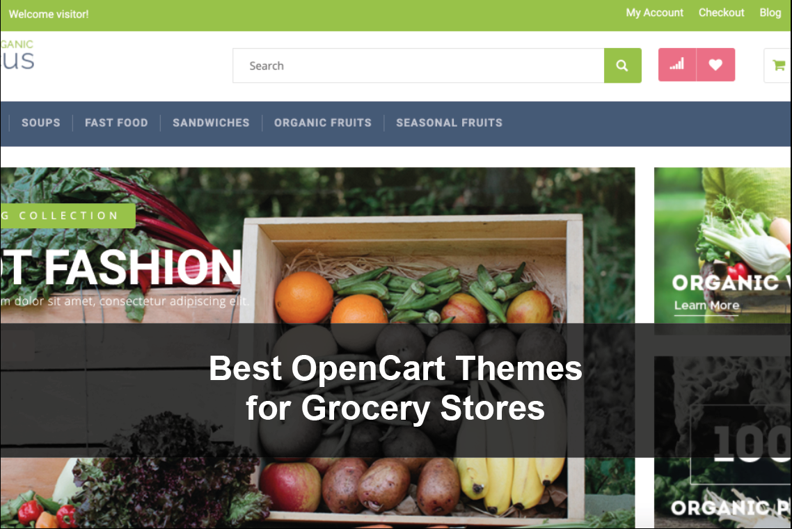Best OpenCart Themes for Grocery Stores