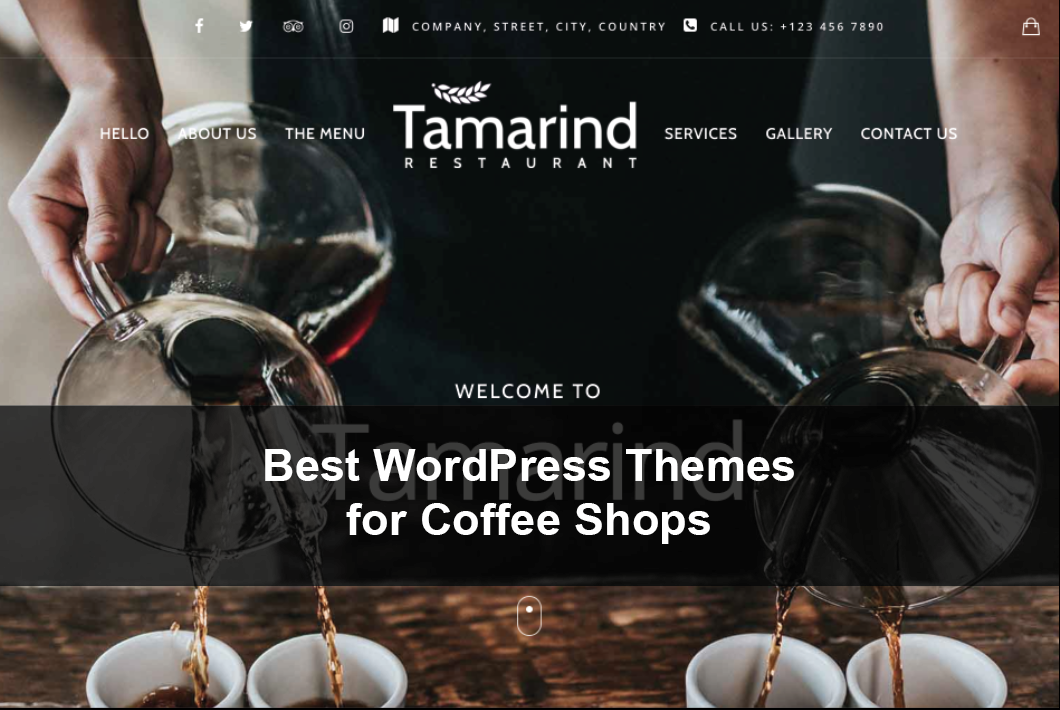 Best WordPress Themes for Coffee Shops
