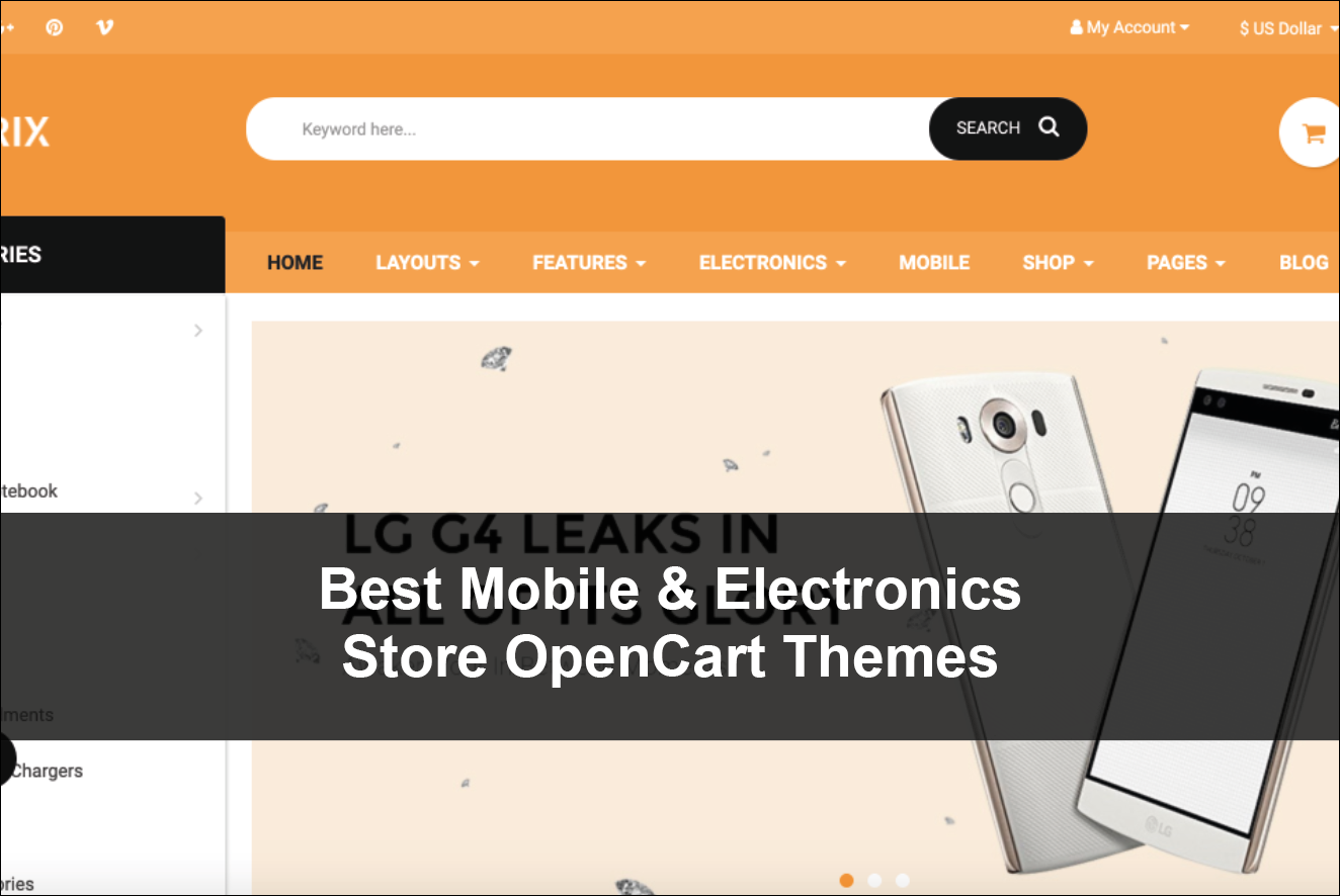 Best Mobile & Electronics Store OpenCart Themes