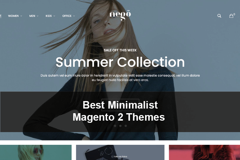 Best Minimalist Magento 2 Themes