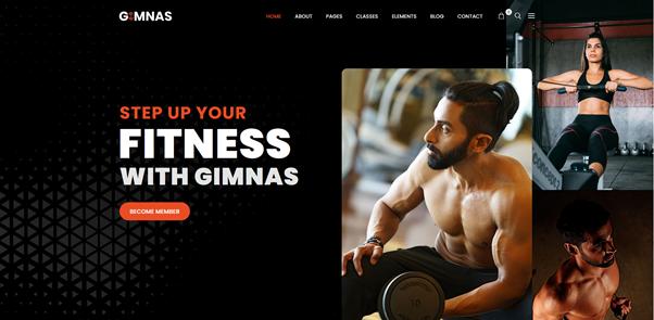 Gimnas - Gym Fitness WordPress Theme