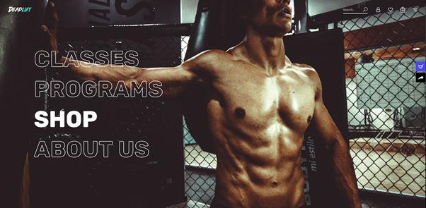 Deadlift - Fitness and Bodybuilding WordPress Theme