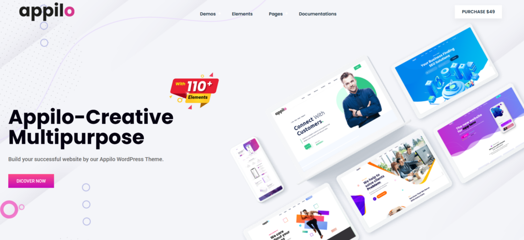 Appilo – App Landing and Showcase Page