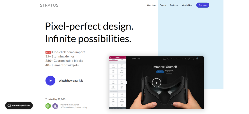 Stratus - App, SaaS & Software Startup Tech Theme
