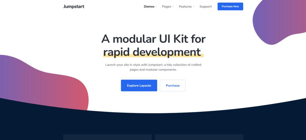 Jumpstart - App and Software WordPress Theme