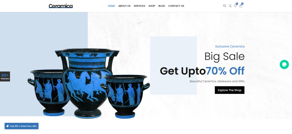CiyaShop – Art Gallery WooCommerce WordPress Theme