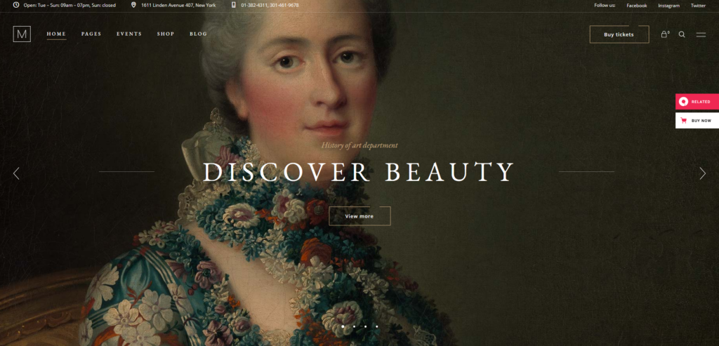 Musea – Art Gallery and Museum Theme