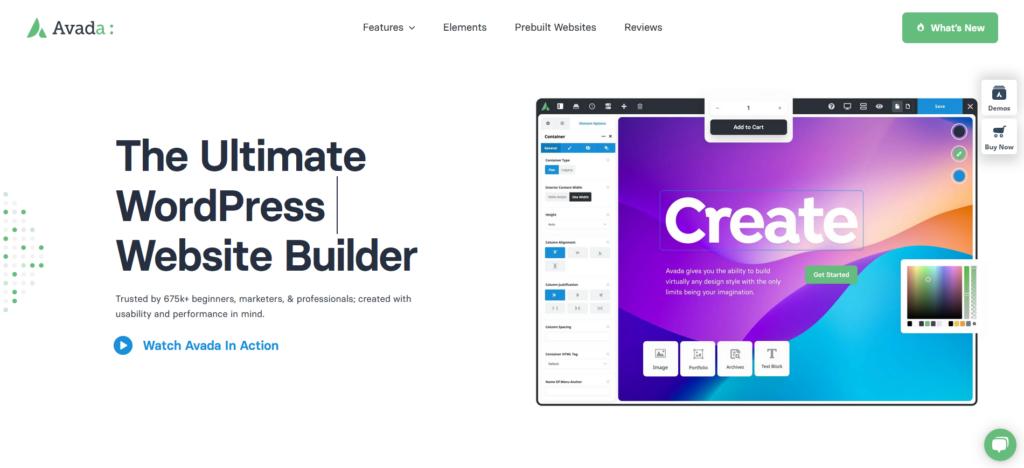 Avada | Website Builder for WordPress & WooCommerce for Freelancers