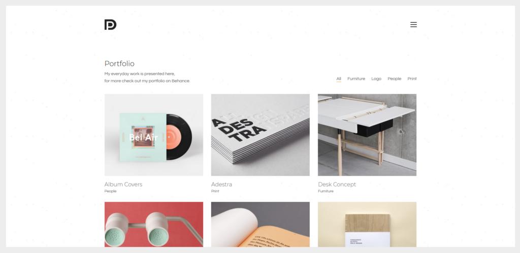 Kalium- Creative Theme for Professionals & Freelancers