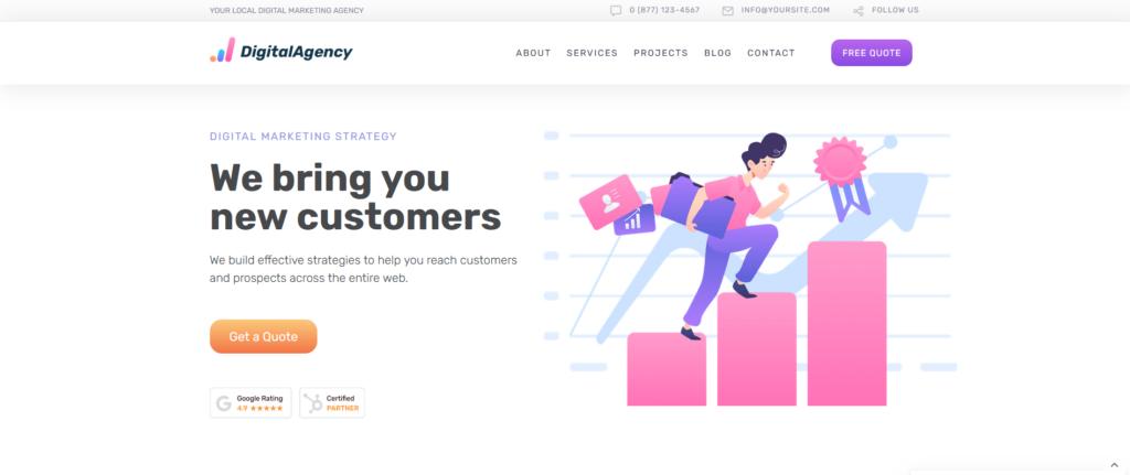 SEO WP | SEO & Digital Marketing WordPress Theme