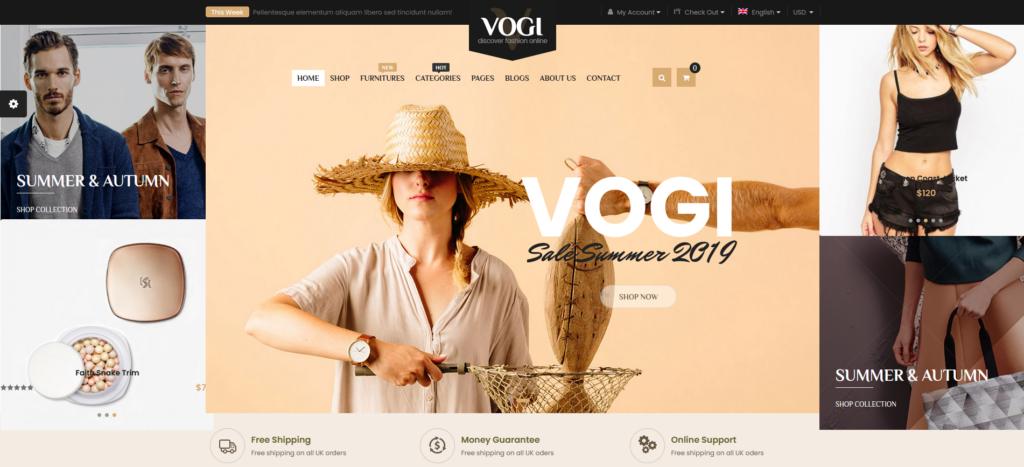 Vogi - Multipurpose WooCommerce WordPress Theme