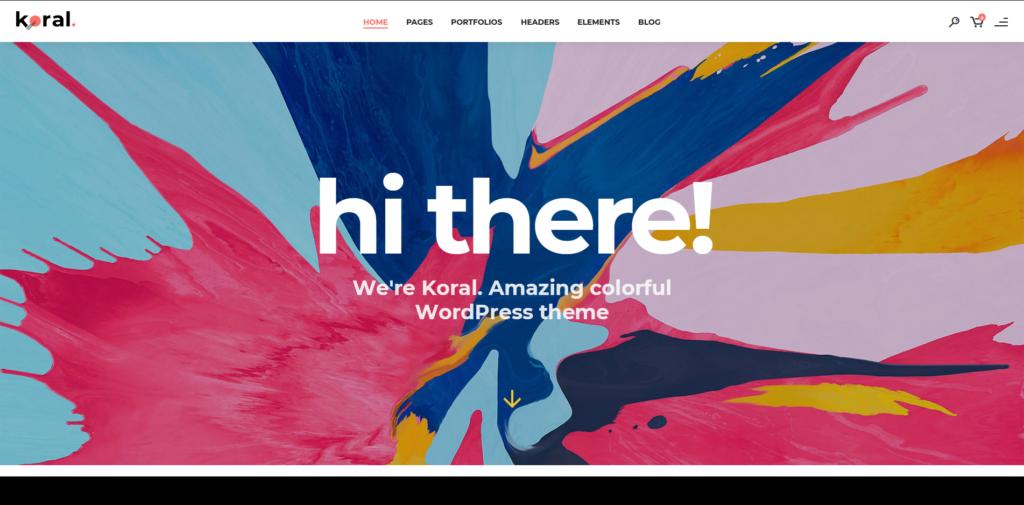 Koral - Multi-Concept WordPress Theme