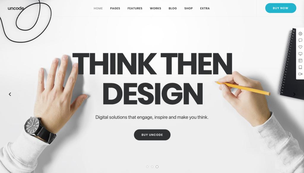 Uncode - Creative Multiuse & WooCommerce WordPress Theme